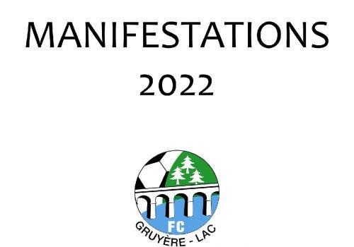 MANIFESTATIONS 2022